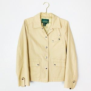 Ralph Lauren | Green Tag Trench Coat